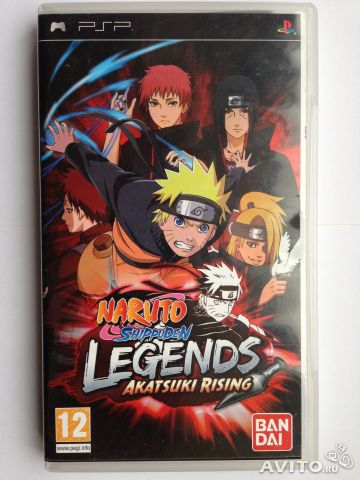 Naruto Legends Akatsuki Rising (PSP)— фотография №1