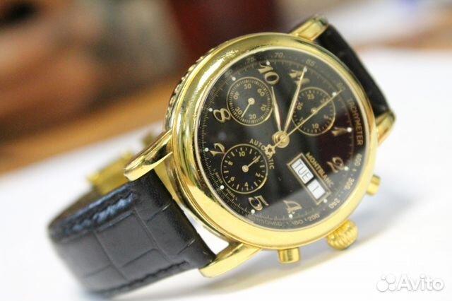 b4d8ce8166d2 Швейцарские часы Mont Blanc Meisterstuck 4810 К2   Festima.Ru ...