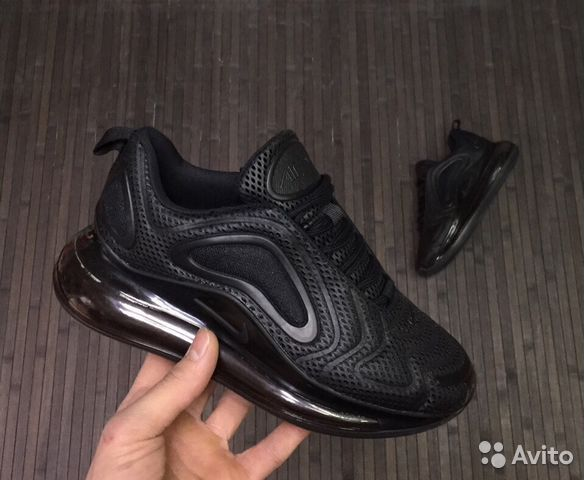 4bd1197e Кроссовки Nike Air Max 720 женские (чёрные) | Festima.Ru ...