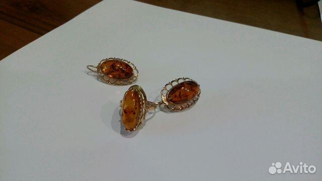 Золотое кольцо с янтарем NEW GOLD 104000192212ya*: красное и розовое золото,  янтарь — купить в интернет-магазине ... | 360x640
