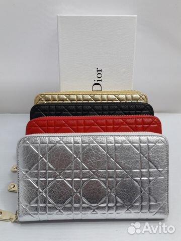 b760ff4cf1e9 Красный Кошелек Christian Dior CD Кристиан Диор по | Festima.Ru ...