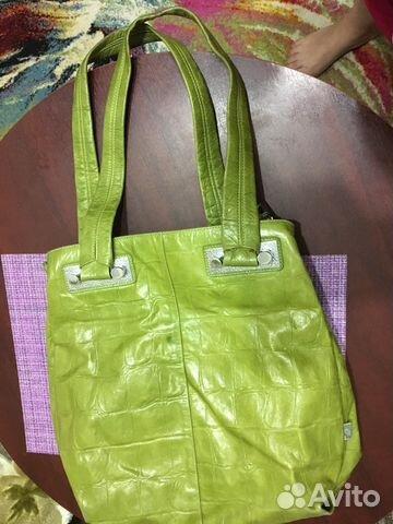 2a2b2f4b Кожаная сумка женская— фотография №1. Адрес: Астраханская область ...