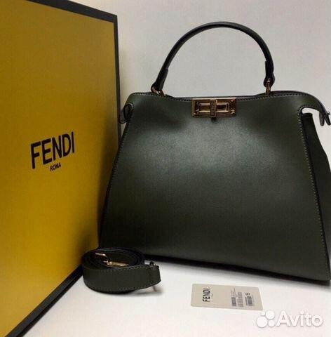 21496460f6a5 Сумка новая женская кожаная Fendi Фенди купить в Москве на Avito ...