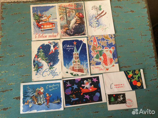 Редкие открытки ссср цена фото