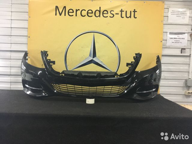 0a46ec4e60fd4 Бампер передний Mercedes S klasse W222 купить в Москве на Avito ...