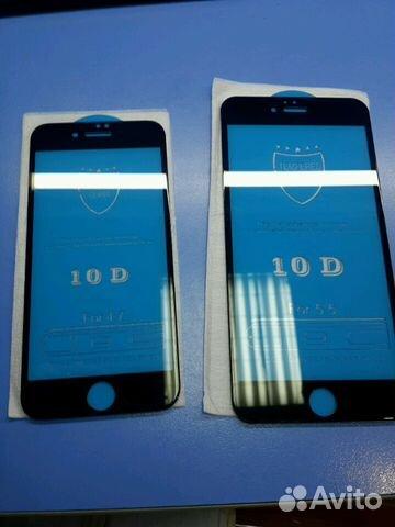 89107311391 Защитные стекла iPhone 10D