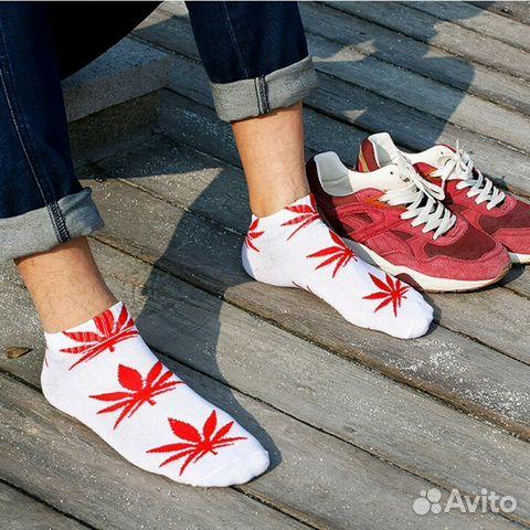 Носки с рисунком конопли марихуана канада