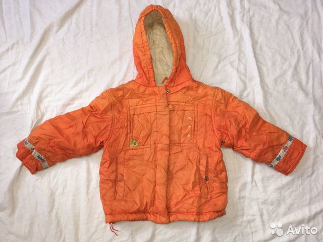 Куртка с капюшоном 89674702177 купить 1