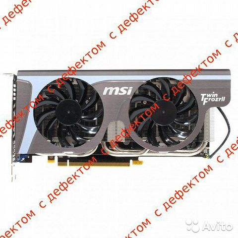 Видеокарта PCI-E 1Gb GeForce Gtx560Ti MSI N560GTX— фотография №1