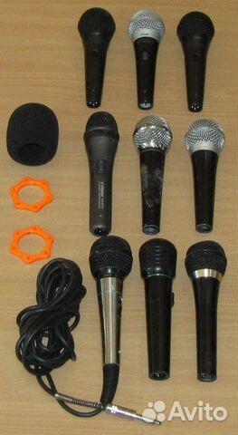 Вокальные микрофоны 9шт. Shure Yamaha Behringer купить 9