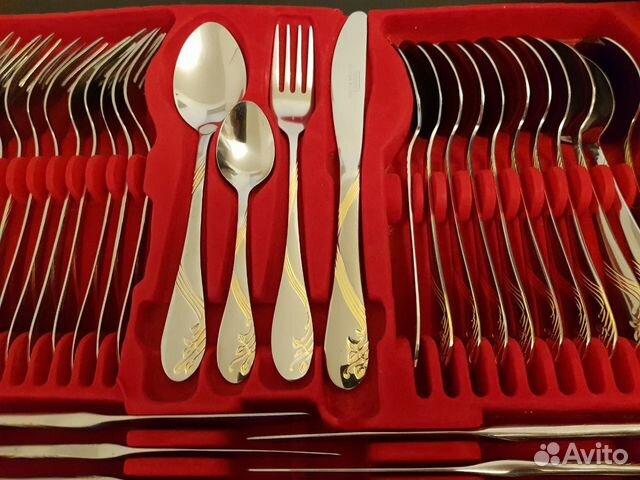 Немецкий набор столовых приборов на 12 персон 72 п 89894580191 купить 5