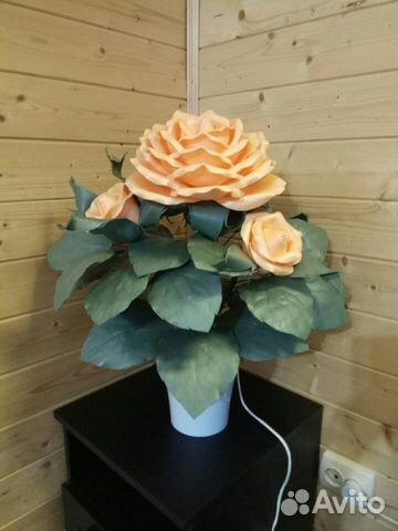 Кустик розы - ночник 89087396991 купить 3