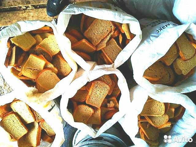 Хлеб в мешках на корм животным 89041995710 купить 1
