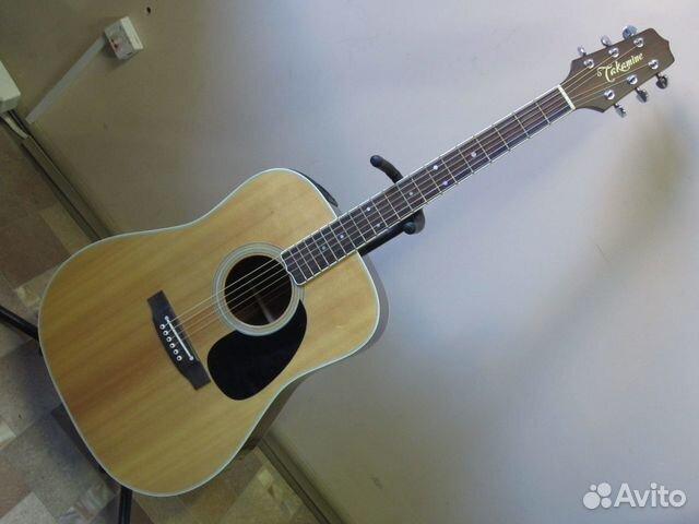 89025069832  Электроакустическая гитара Takamine FP400S (1993)