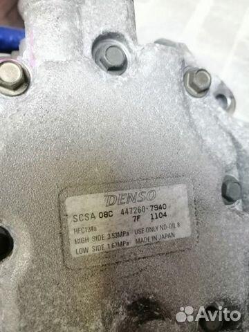 Компрессор кондиционера Subaru 89649892108 купить 4