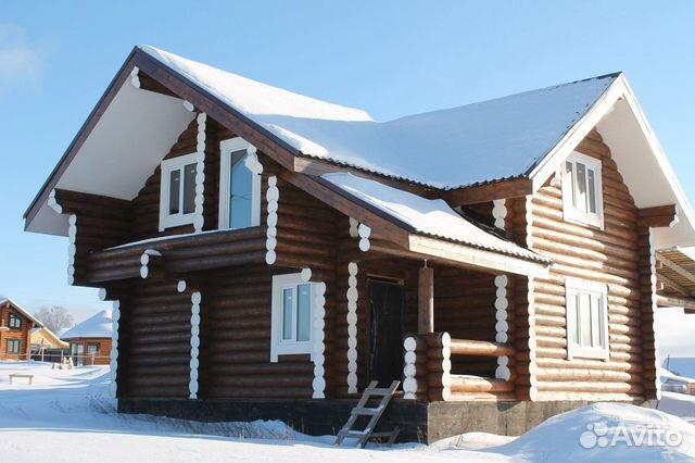 Дома из оцилиндрованного и рубленого бревна 89127347064 купить 3