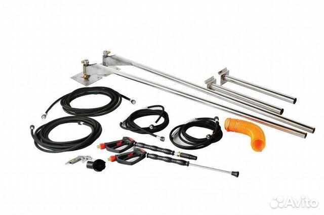 Equipment for auto car wash self-service