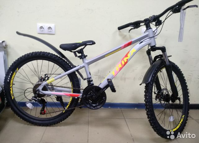 Велосипед, Итальянский бренд, 24 дюйма 89527559801 купить 2