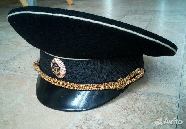 Фуражка офицерская вмф, р. 57, 2003 г 89147007443 купить 1