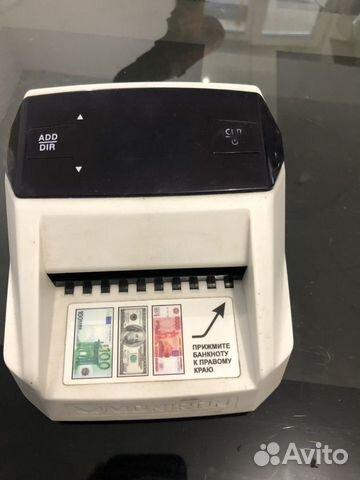 Автоматический детектор банкнот денег moniron DEC