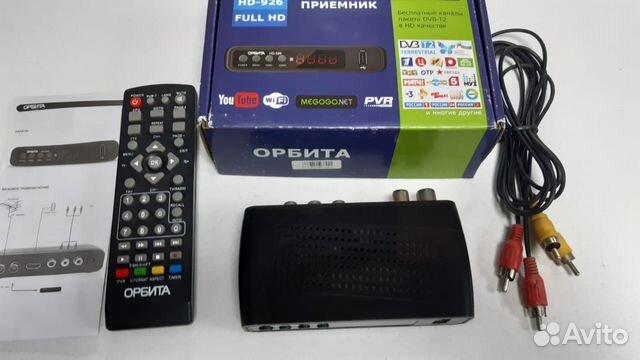 Приставка цифровая DVB-T2 ресивер Орбита
