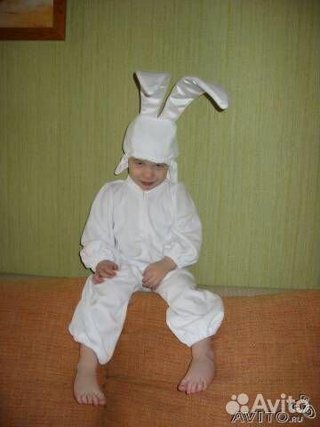 Красивый костюм зайчика