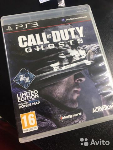 Call of Duty пс3 кгн06  89225782028 купить 1