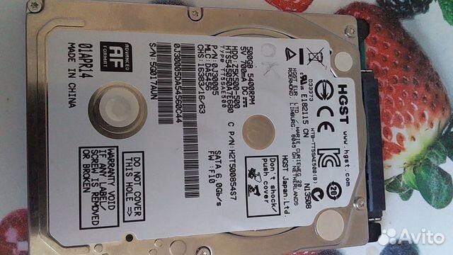 Жесткий диск 500 Gb полностью рабочий  89307350848 купить 1