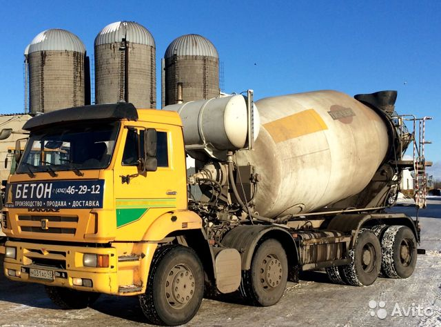 доставка бетона белгород