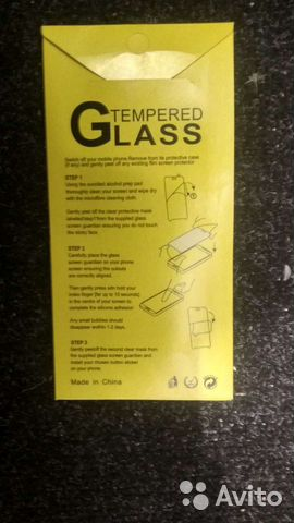 Tempered Glass screen protector 9H 2,5D защитная п  89202273784 купить 2