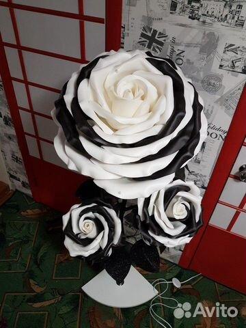 Торшер Ростовые цветы Роза  89009049190 купить 1