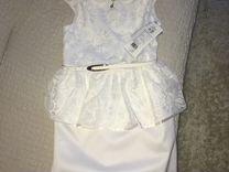 Платье для девочки, рост 152, новое