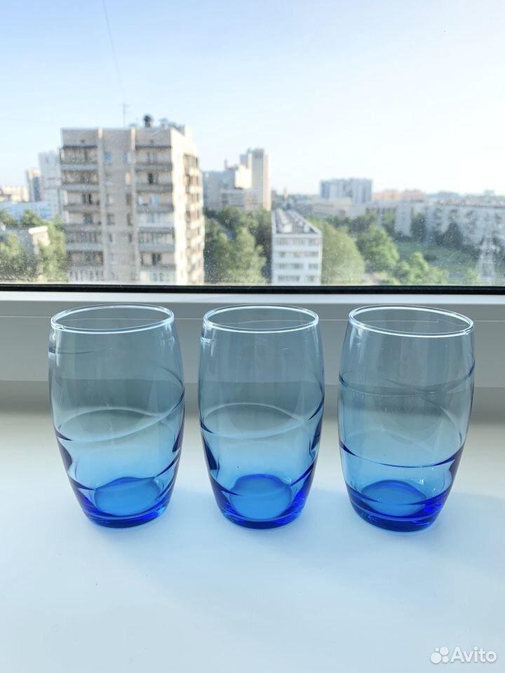 Тонкие французские стаканы Luminarc 3 шт  89210916109 купить 1