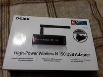 Wi-fi адаптер D-Link N150 DWA