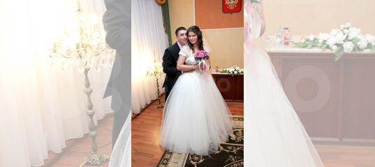 Пышное свадебное пллатье