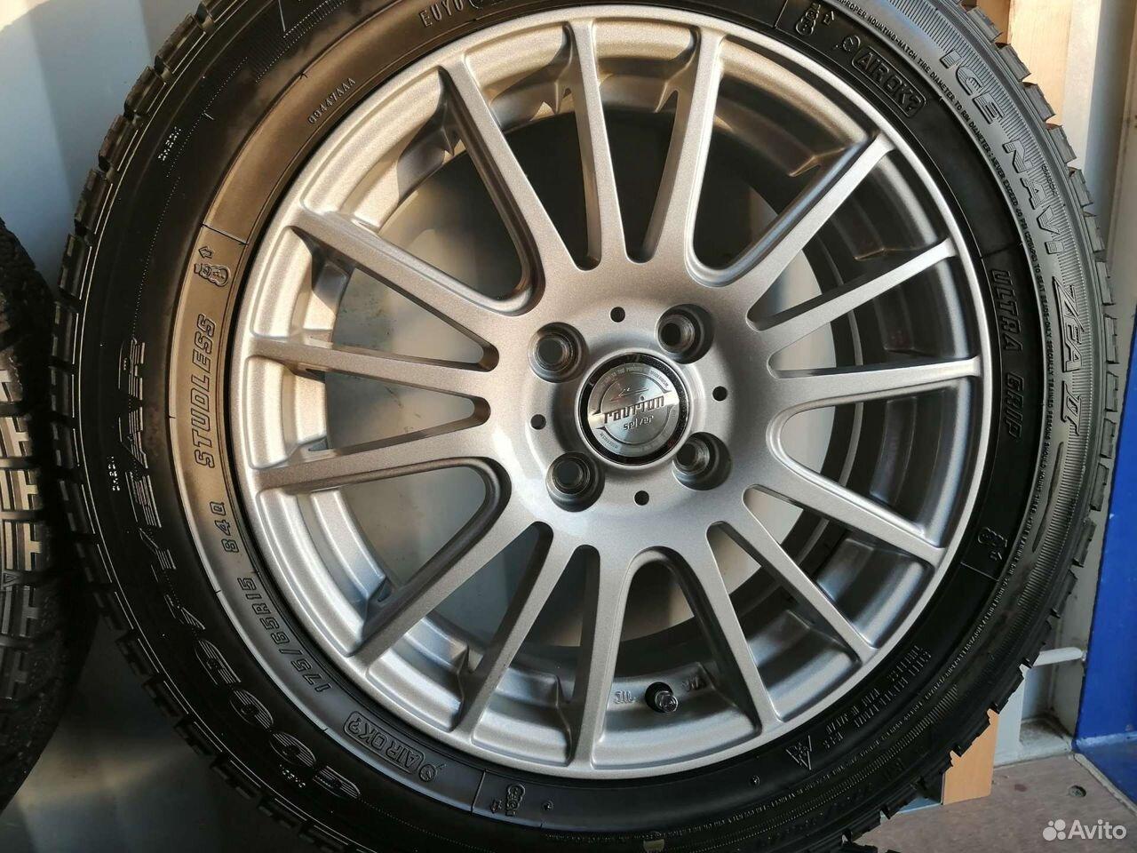 Комплект колес (№148) из Японии  89244146927 купить 2