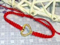 Плетеные браслеты из нити