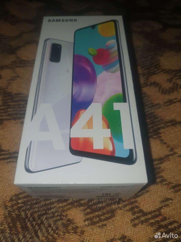 Samsung a41. В хорошем состоянии. полный комплект  89859299727 купить 1