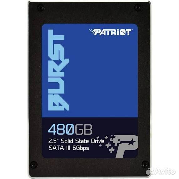 SSD patriot на 480GB, совершенно новый, запечатан