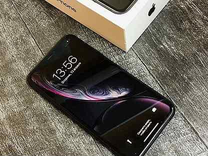 iPhone Xr 64GB Black / Ростест / Оригинал