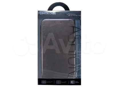 Чехол-книжка для Samsung J530 J5 2017 business серый