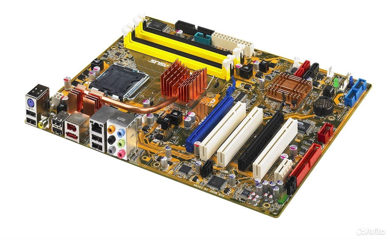 Материнская плата asus P5K LGA775 DDR2