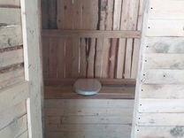 Хоз постройка туалет