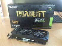 Видеокарта Palit GeForce GTX 1050 Ti dual OC — Товары для компьютера в Новосибирске