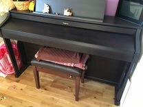Цифровое пианино roland HP505 цвет черный