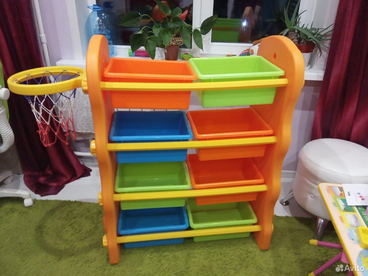 Стеллаж для игрушек  89107866694 купить 1