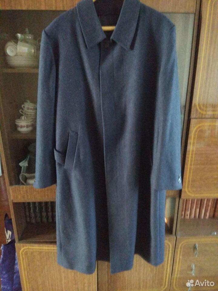Пальто осеннее мужское Дубленка размер 56