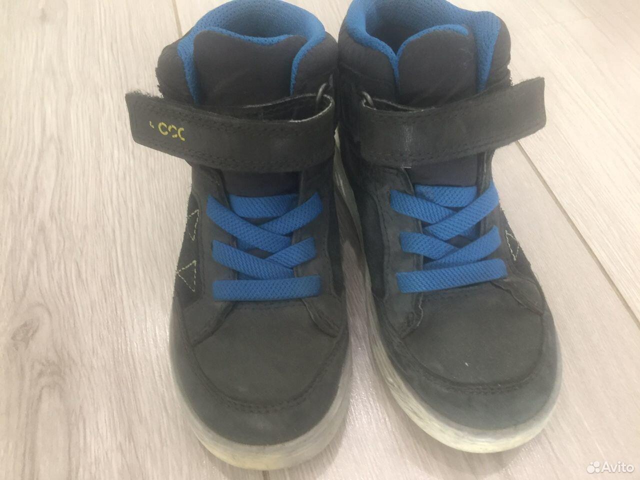 Ботинки Ecco осень - весна  89102635380 купить 1