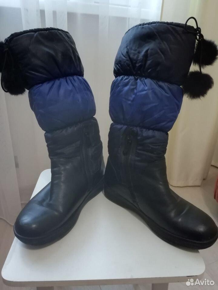 Сапожки женские зимние  89876760837 купить 1