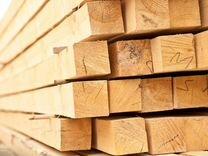 Обрезной брусок лиственница 50х50х6м (гост)